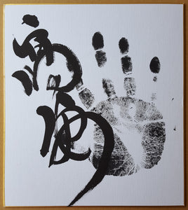 Authentic Autographs - Handprint and Signature - Tegata