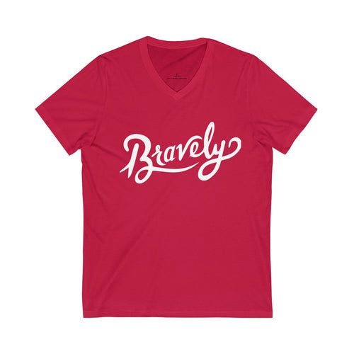 Classic Logo V-Neck Adult Tee