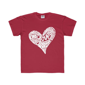 Clothed in Love Kids Tee (White)