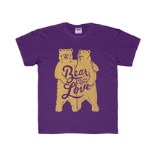 Bear with One Another Kids Tee (Gold)