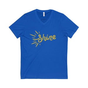 Shine Adult V-Neck Tee