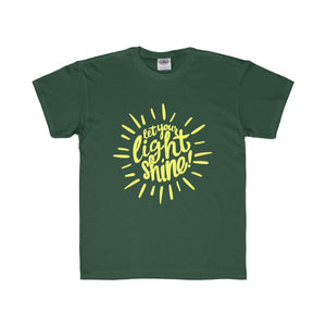 Let Your Light Shine Kids Tee