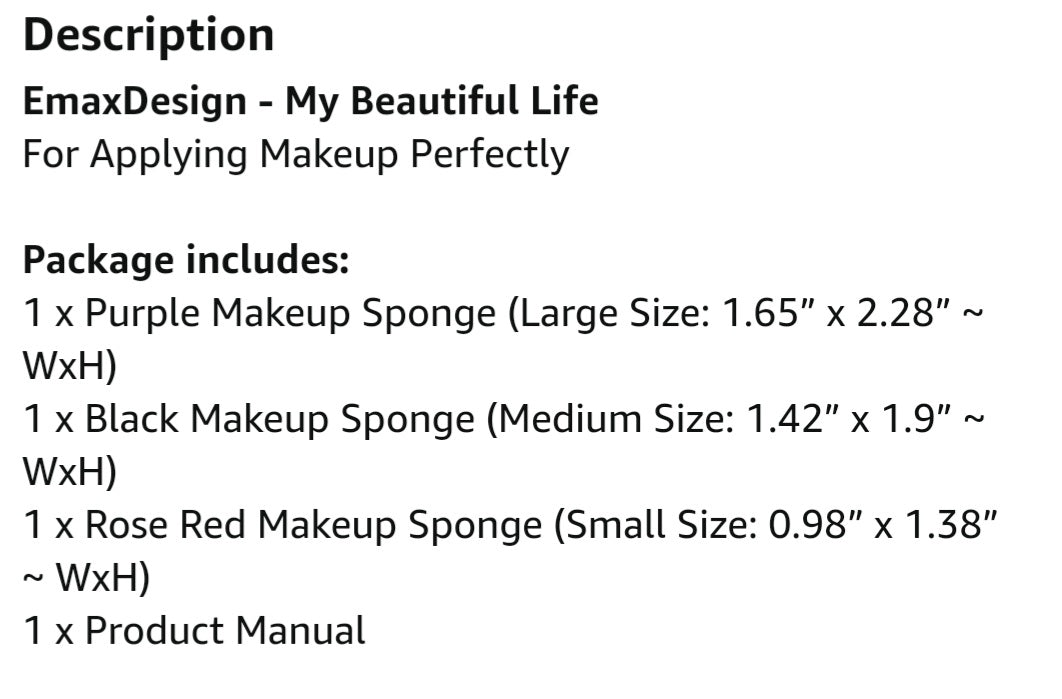 Makeup Spong Applicator - Celi's Secret