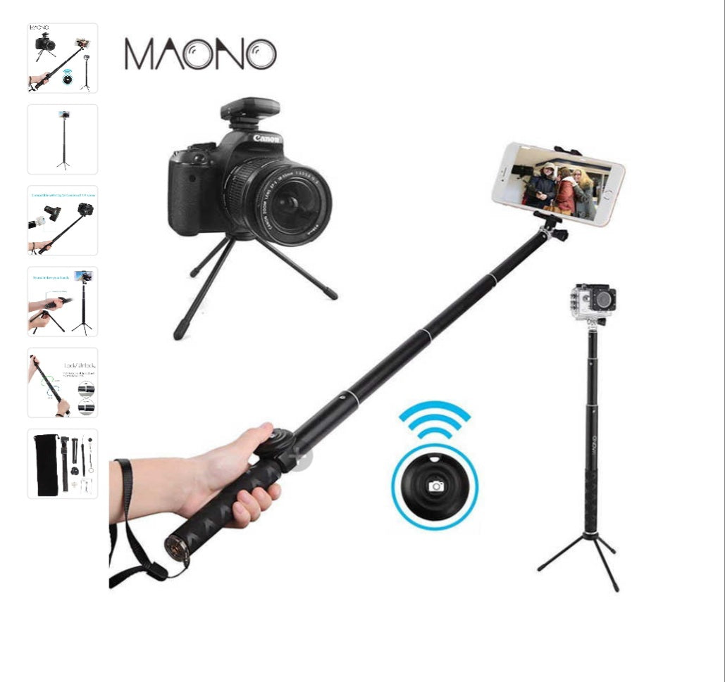 Maono Selfie Stick - Celi's Secret