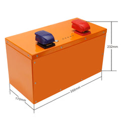 LiFePO4 12.8V 42Ah Deep Cycle Battery for RV Leisure Marine Boat Caravan Camping