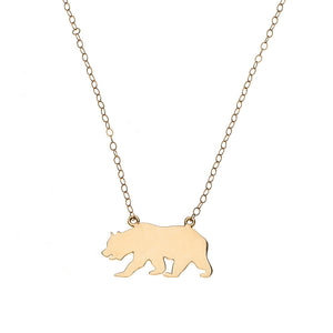 California Bear Necklace
