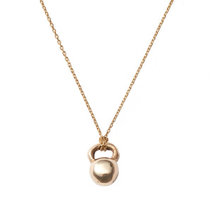 Kettlebell Charm Necklace