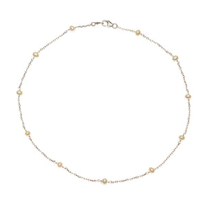 Multi-Pearl Necklace 14k