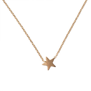 Star 14k Necklace