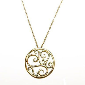 Lucky Charm Filigree Necklace