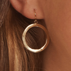 Washer Circle Earrings