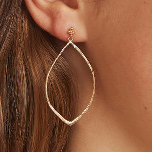 Elliptical Earrings 14k