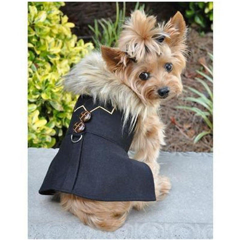 Chevron Dog Coat - Furevables Pet Boutique