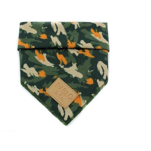 Camo Bandana - Furevables Pet Boutique