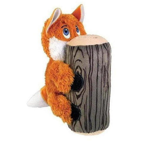 KONG Huggz Hiderz - Fox - Furevables Pet Boutique