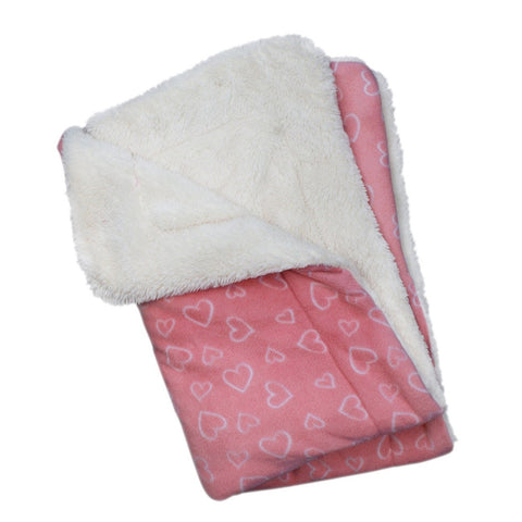 Blush of Love Minky Blanket