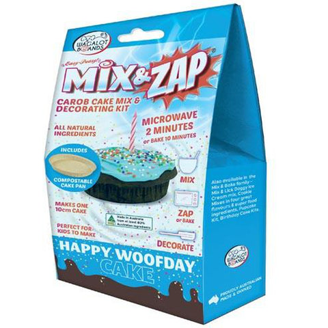 Wagalot HAPPY WOOFDAY CAKE Kit - Blue