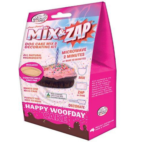 Wagalot HAPPY WOOFDAY CAKE Kit - Pink