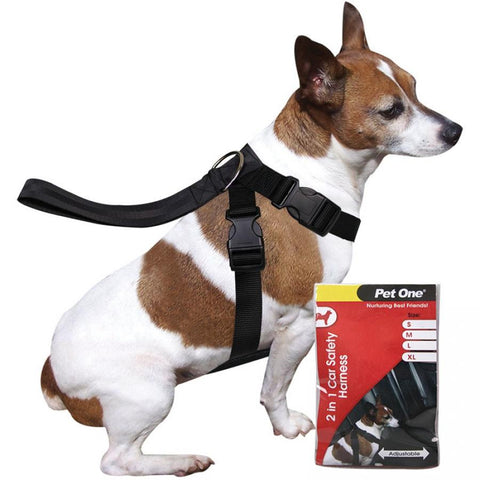 2 in 1 Car Safety Harness - Furevables Pet Boutique