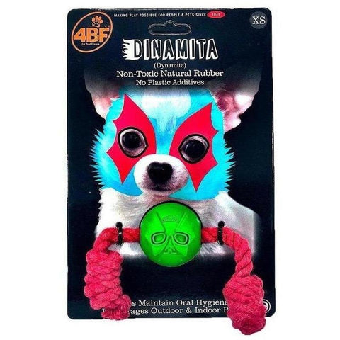 4BF Dynamite Chew Toy - Furevables Pet Boutique