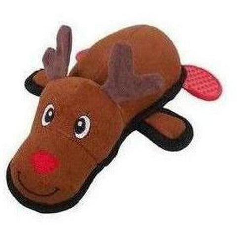 Reindeer Tough Dog Plush Toy - Furevables Pet Boutique