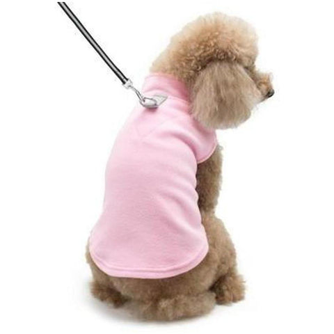 Essential Fleece Vest - Medium - Furevables Pet Boutique