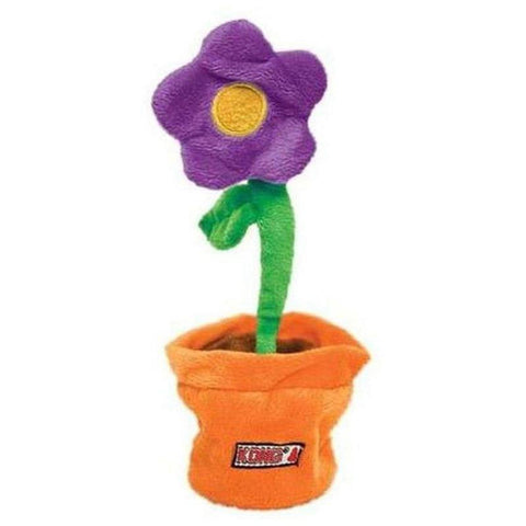 KONG Puzzlement Flower Pot - Furevables Pet Boutique