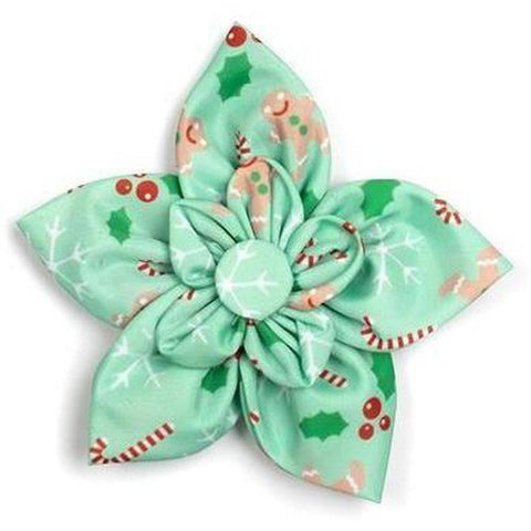 Gingerbread Flower - Furevables Pet Boutique