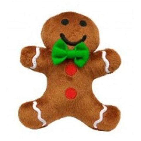 Gingerbread Man Plush - Furevables Pet Boutique