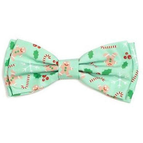 Gingerbread Bowtie - Furevables Pet Boutique