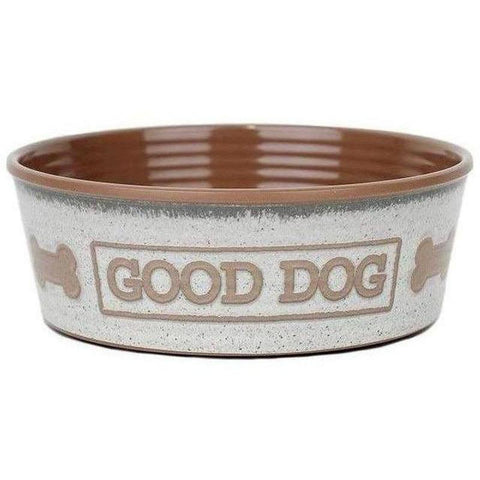Barkley and Bella Good Dog Bowl - Natural
