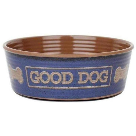 Copy of Barkley and Bella Good Dog Bowl - Indigo