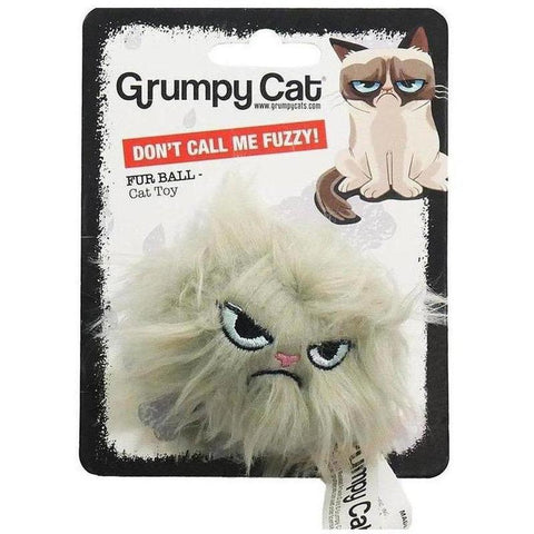 Grumpy Cat Plush Toy - Hair Ball - Furevables Pet Boutique