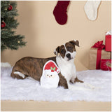 Here Comes Santa Dog Toy - No Stuffing! - Furevables Pet Boutique