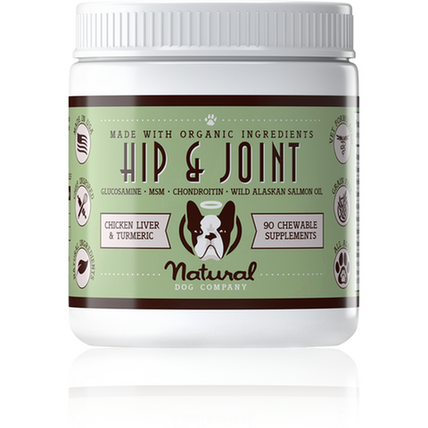 Furevables Pet Boutique - Natural Dog Company Hip and Joint Supplement