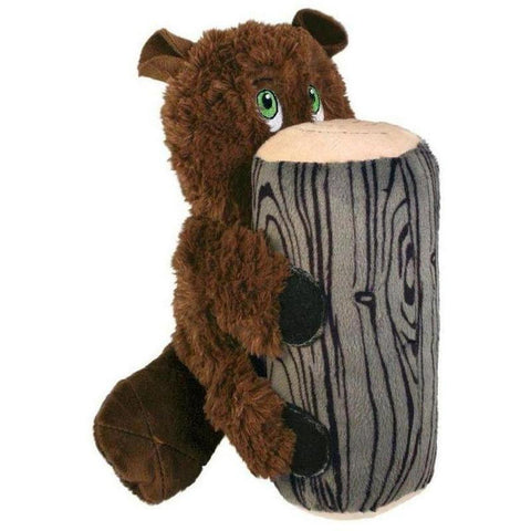 KONG Huggz Hiderz - Beaver - Furevables Pet Boutique