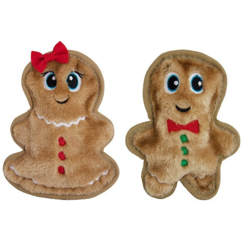 Outward Hound Invincibles Christmas Gingerbread - Furevables Pet Boutique