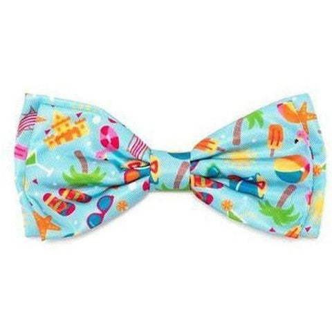 Life's a Beach Bowtie - Large - Furevables Pet Boutique