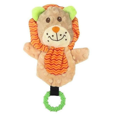 Snuggle Friends Lion Teether - Furevables Pet Boutique