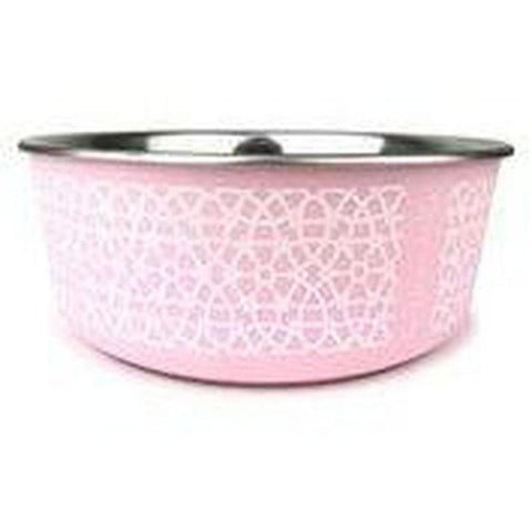Furevables Pet Boutique - Marrakesh Pet Bowl - Rose