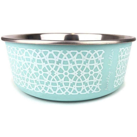 Furevables Pet Boutique - Marrakesh Pet Bowl - Mint