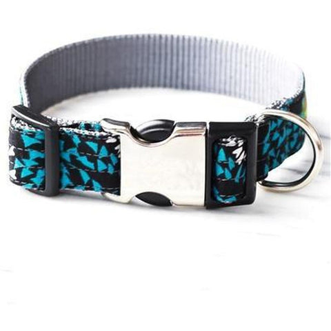 Blue Algae Dog Collar - Furevables Pet Boutique