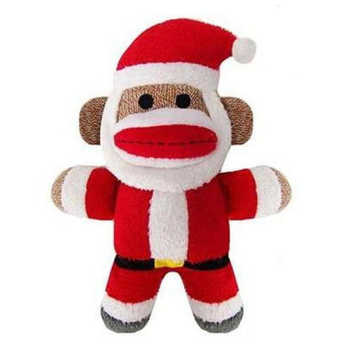 Monkey Jolly Santa - Furevables Pet Boutique