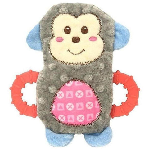 Snuggle Friends Monkey Teether - Furevables Pet Boutique