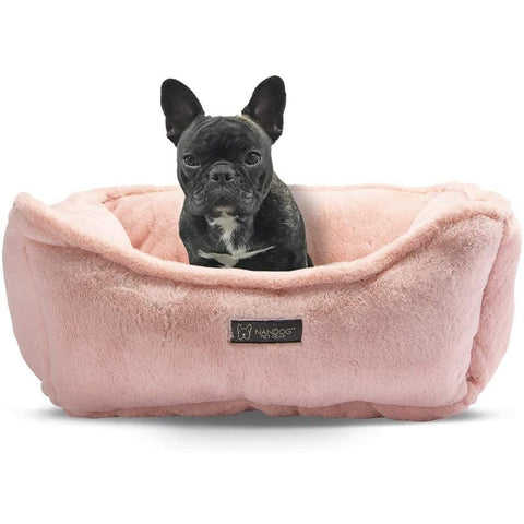 Nandog Cloud Reversible Bed - Blush Pink - Furevables Pet Boutique