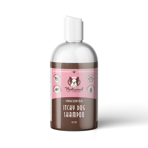 Itchy Dog Natural Shampoo - Furevables Pet Boutique