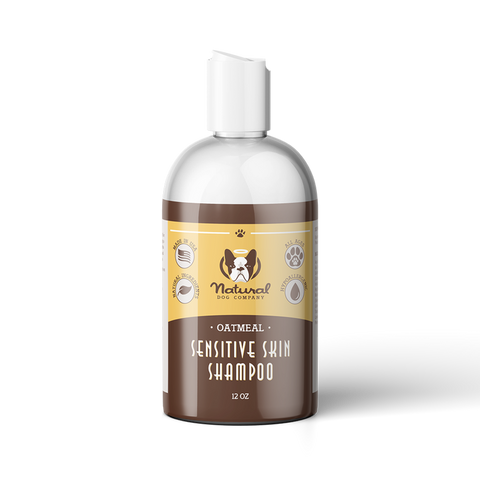 Sensitive Skin Oatmeal Shampoo - Furevables Pet Boutique
