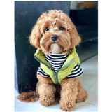 Khaki Puffer Vest - Furevables Pet Boutique