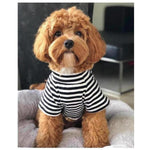 Furevables Pet Boutique - Black & White Classic Tee Pablo & Co