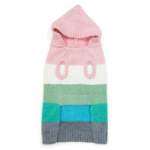Colour Stripe Hoodie Sweater